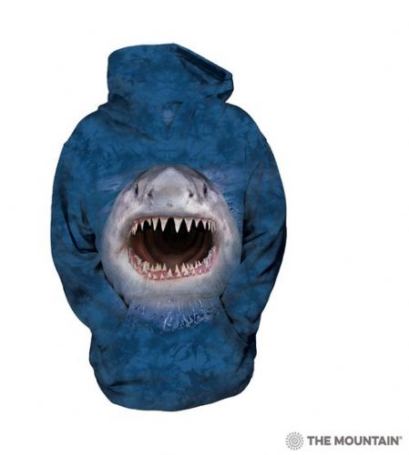 Kids Hoodies - Wicked Nasty Shark - The Mountain®